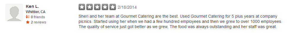 Review3GourmetCatering